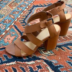 Nordstrom B.P. Label Leather Sandal